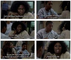 """Seriously, they probably have the best exchanges ever.   Poussey Is The Most Underrated Character In """"Orange Is The New Black"""""""