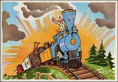The Little Engine That Could. as illustrated by George and Doris Hauman.