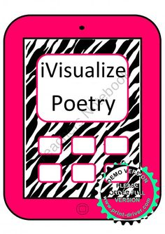 iVisualize Poetry: Common Core product from TheVeryBusyFirstGraders on TeachersNotebook.com