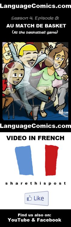 Practice your pronunciation and learn #French with this episode and many more. Enjoy and share!  http://www.youtube.com/watch?v=KeS2vfriAPM  ---------------------------------------------  Also find us on http://www.Facebook.com/LanguageComics and http://www.YouTube.com/LanguageComicsTeam