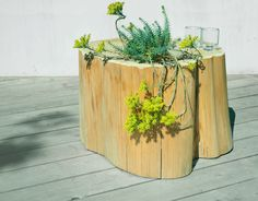 side table for a patio