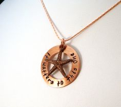 Foster care- It Matters to This One Starfish Necklace    @Caitlin Burton Stark