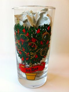 Christmas Glass 5th Day of Christmas by TheDearestDollhouse, $8.00