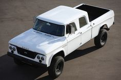 Icon D200 truck - combines modern technology with the look of Dodge's landmark 1965 crew cab truck.