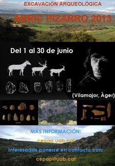 Campaña de excavación en el yacimiento de Abric Pizarro  (Vilamajor, Àger, La Noguera, Lleida), del 1 al 30 de junio de 2013 :: audio ::