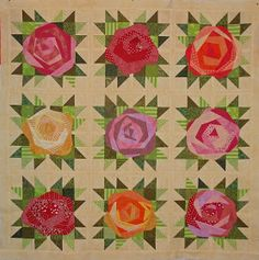 Kim's Big Quilting Adventure: Jersey Rose . . .