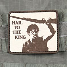 Tactical Bruce Campbell Army of Darkness Hail by TacticalTextile, $9.99