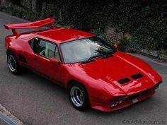 1973 Detomaso Pantera GT5S, Italian designed, Ford powered.
