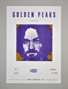 Golden Peaks by Landfill Editions, via Flickr