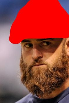 These bearded Red Sox look like garden gnomes to me.