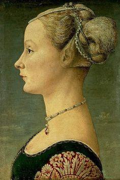 Portrait of a lady,c.1475 by Antonio del Pollaiolo