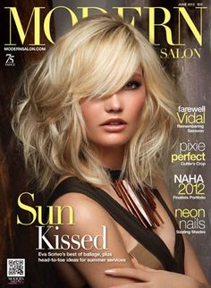 Modern Salon June 2012 Issue: Sun Kissed  |  ModernSalon.com