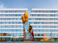 Ericsson Kista building photographed by Mattias Hamrén