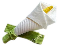 How to Make a Lily Hair Bow Clip Instructions--1