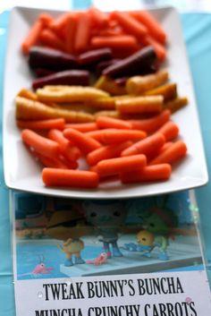 Buncha Muncha Crunchy Carrots