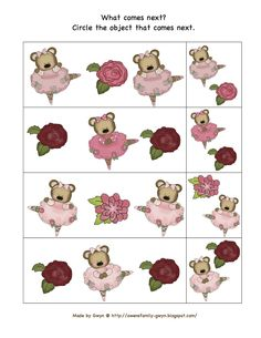 Preschool Printables: Little Ballerina Bear Theme
