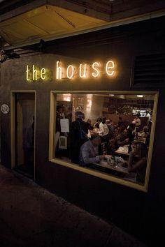 The House restaurant, San Francisco