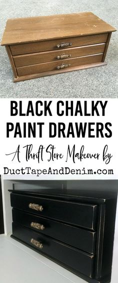 Black Chalky Finish