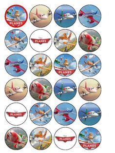 / cupcak topper, cupcake toppers