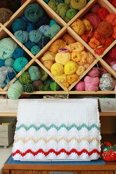 Crochet sewing machine cover