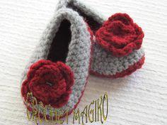 Zapatos Tejidos Para Tu Niña Bebe Crochet Dpa