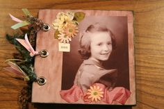 How To Make A Heritage Mini Hybrid Scrapbook Album