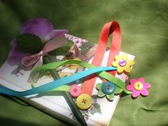 cute bookmarks by Cristali Designs, via Flickr
