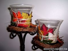 Fall Leaf Craft Tutorials