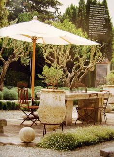 gorgeous tuscan feel  #backyardfantasy #outdoorliving