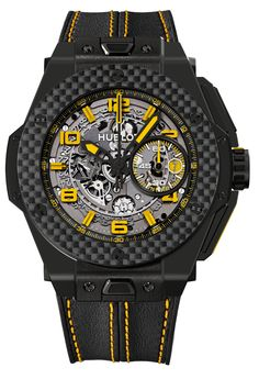 Hublot Ferrari Ceramic Carbon Watches - Big Bang