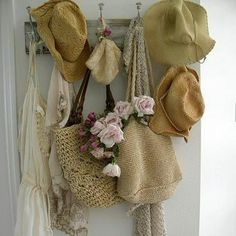sun hats for beach and poolside!