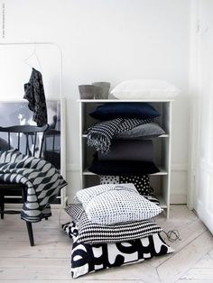 I'm always looking for somewhere accessible to store blankets and pillows. This might work