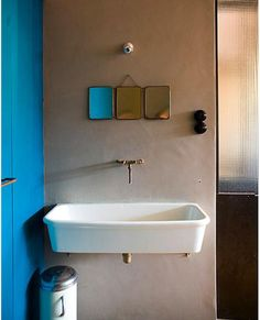 Design Sleuth: Triptych Metro Bath Mirror from Roost : Remodelista
