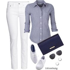 """""""No. 456 - Casual Sunday"""" by hbhamburg on Polyvore"""