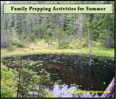 Family Prepping Activities for Summer
