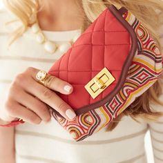 Uptown Wristlet: The chic wristlet for all your fall bridesmaids!
