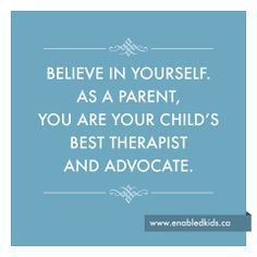 Connecting One Piece at a Time: You Are Your Child's Best Advocate!