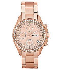 """Fossil Decker Watch"" www.buckle.com"