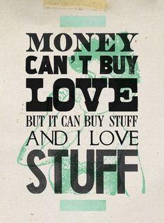 money can't buy love