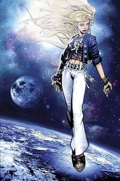 Lucy in the Sky from The Runaways ~ art by Chris Bachalo