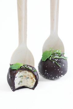 Sprinkle Bakes: Mojito Cheesecake Pops