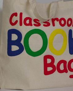 Create this fun classroom book bag - Free Tutorial @joannstores
