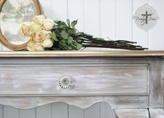 Warm Silver Metallic Paint on Furniture   Project by Prodigal Pieces
