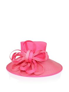 Giovannio Women's Shantung & Woven Bow Hat