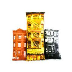 Build Your Block -- Bed-Stuy pillow set
