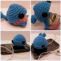 Amigurumi Headphones : Knit/crochet cozys n covers on Pinterest 56 Pins