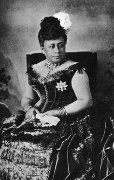 Lili'uokalani (1838-1917) Queen of the Kingdom of Hawaii