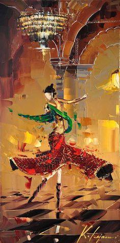 Kal Gajoum - Painting