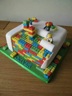 Innovative Lego Cake