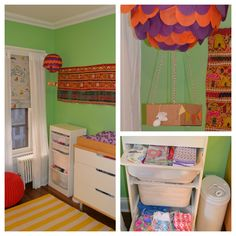 Travel-themed nursery for a baby girl! | Nursery Ideas – Parenting.com